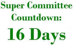 16 Days Super Committee Countdown