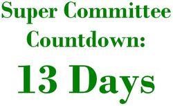 13 Days Super Committee Countdown