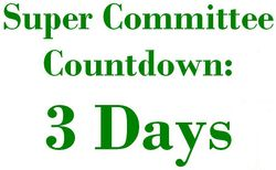3 Days Super Committee Countdown