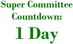 1 Days Super Committee Countdown