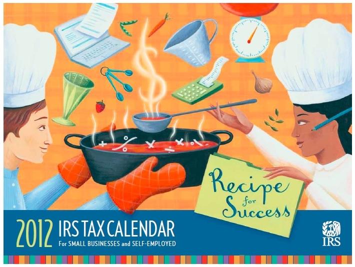 2012 IRS small business SE calendar