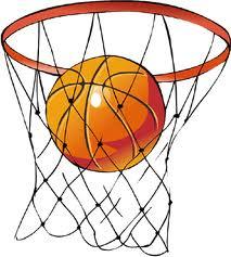 Basketball in net