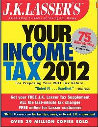 JKLasser_YourIncomeTax2012_bookcover