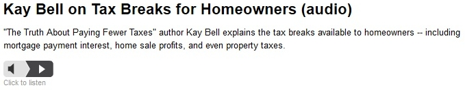 Homeownership audio Truth About Paying Fewer Taxes