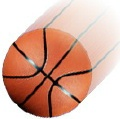Basketball in motion (3)