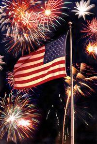 July4-fireworks-flag_tacojim_iStock_000000923564