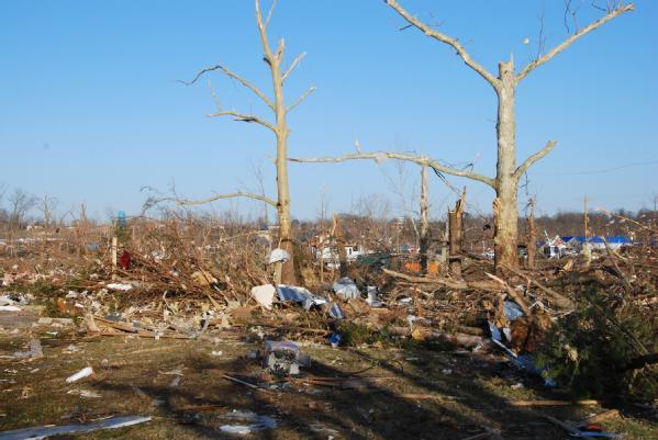 Henryville, Ind., tornado damage March 6 2012 via FEMA