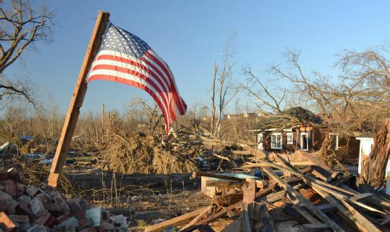 Henryville Indiana tornado damage 030812 via Gene Romano FEMA_edited-1