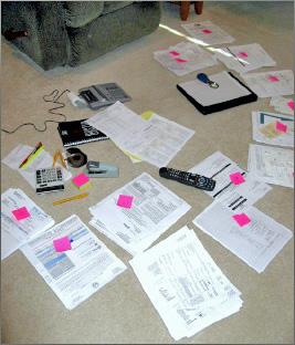 My tax return preparation process