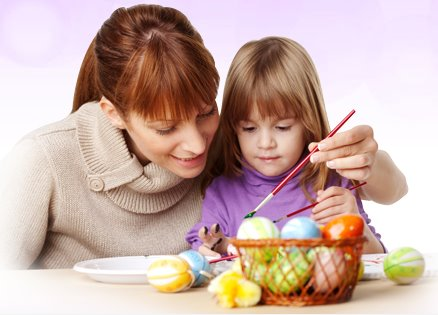 Coloring Easter eggs_Nestle USA