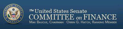Senate Finance Committee logo