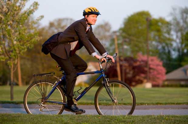 Biking commuter photo by kickstand_iStock1