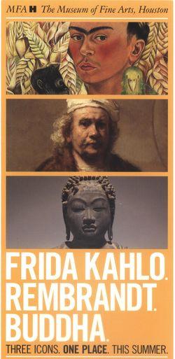 MFAH Rembrandt Kahlo Japanese July 2012