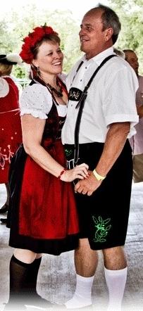 Dancing at Oktoberfest Fredericksburg Texas (2)