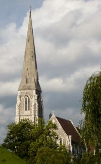 Church spire by Charles Hutchins via Flickr