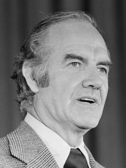 George McGovern circa 1972 via Wikimedia Commons