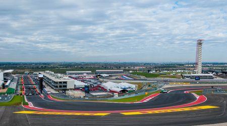 Circuit of the Americas F1 track Austin Texas