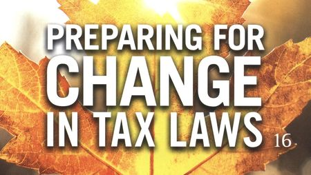 Preparing for change in tax laws_TRPrice Sept 2010