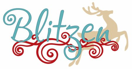 Blitzen design by BoBunny
