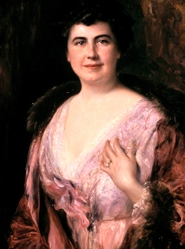 Edith Bolling Wilson first lady official White House portrait via Wikimedia Commons; Click for more info