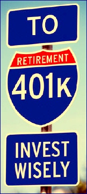 401k road signs