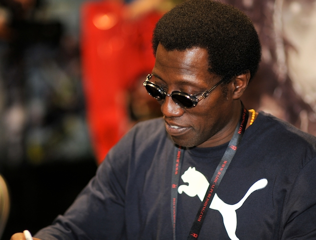 Wesley Snipes signs autographs at ComicCon 2010 by Athene cunicularia via Wikipedia