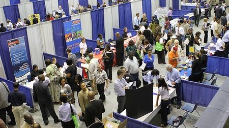 Marietta, Georgia, career fair courtesy City of Marietta via Flickr