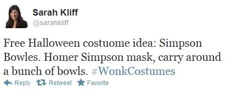 Simpson Bowles wonk halloween costume via Sarah Kliff on Twitter