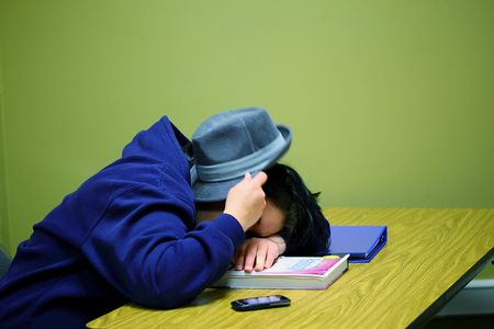 Sleeping student by D Sharon Pruitt aka Pink Sherbert Photography via Flickr