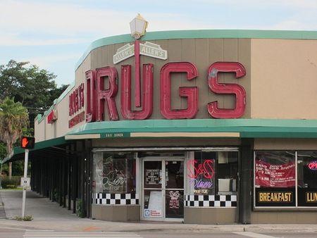Allen's Drug Store Miami Fla by Phillip Pessar vis Flickr