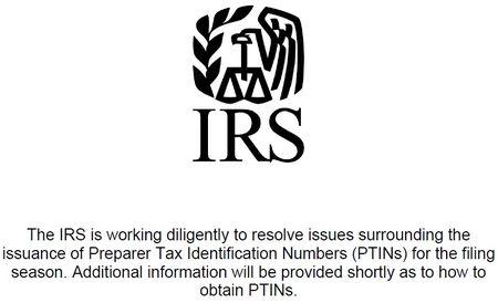 IRS vs tax preparers PTINs 2013 filing season