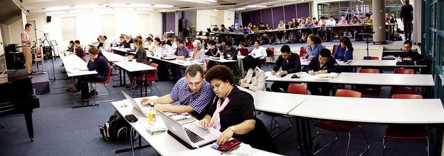 College students at SMBC, Sydney Australia via Flickr Creative Commons