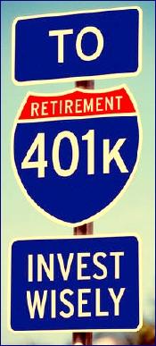 401k road signs