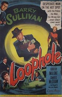 Loophole_movie poster: click image for film synopsis