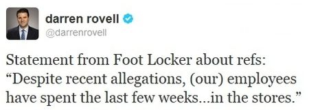 Darren Rovell tweet re NFL replacement refs 25Sept12