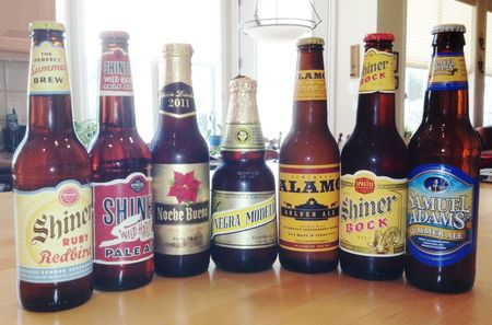 Beers from my refrigerator 29Sept2012_Photo by Kay Bell