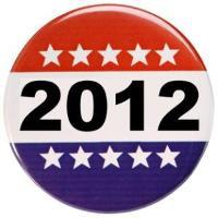 2012 election button