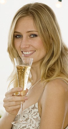 Woman drinking champagne_233x442