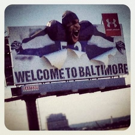 Ray Lewis Welcome to Baltimore billboard_Mvernago