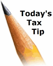 Todays Tax Tip pencil icon