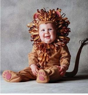 Lion baby 353x383 via Nameberry
