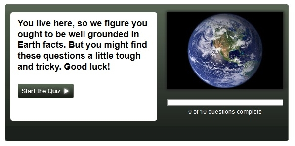 Earth Day 2013 Earth Facts Quiz from Space-dot-com