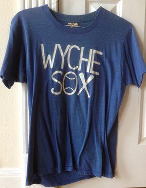 Hubby's Wyche Sox uniform