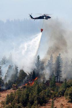 Ponderosa California wildfire 2012-Master Sgt. David Loeffler via Flickr