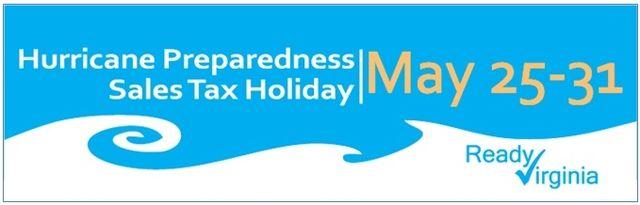 Virginia hurricane sales tax holiday 2013