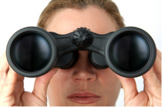 Lookout-binoculars