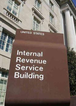 Internal Revenue Service building Washington DC