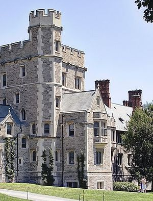 Photo of Blair Hall at Princeton University by Alfred Hutter via Wikimedia