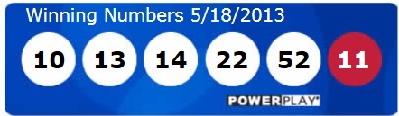 Powerball winning numbers May 18 2013 - not me - BOO
