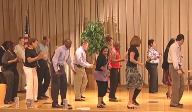Line dancing IRS employees_IRS video released by Ways and Means Committee
